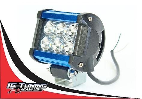 Aluminum Blue 3x2 Led Light Bar
