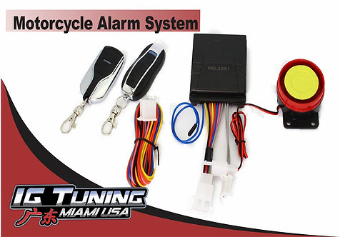 Motorcycle Alarm Single Model