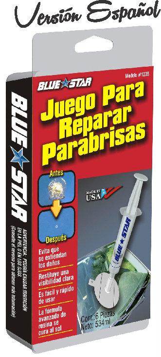 Windshield Repair Kit Spanish Info