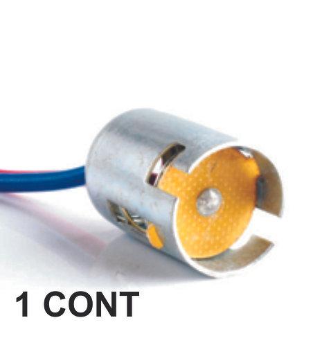 Single Bulb Metal Connector 1 Pcs