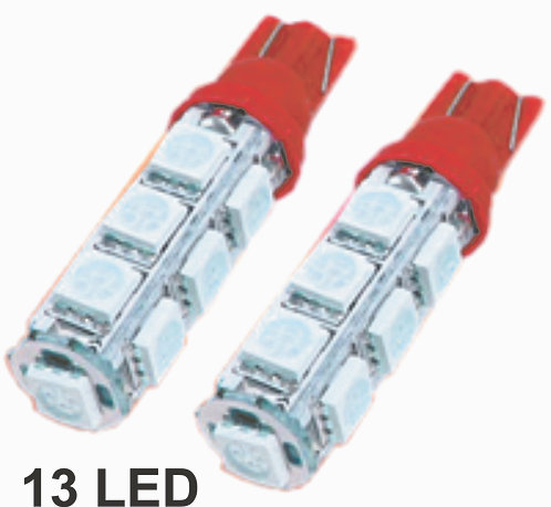 T10 13 LED Tower Red