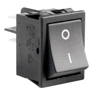 Square Switch Black