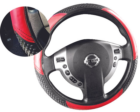 Economic Steering Wheel Cover Red