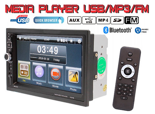 Car Radio 1 DIN Multimedia abatible screen