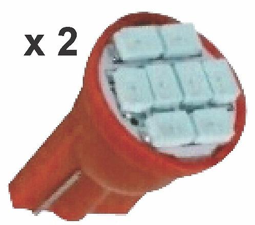 T10 8 Mini Led Red Bulb