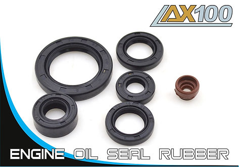 Motorcycle engine oil seal rubber AX100