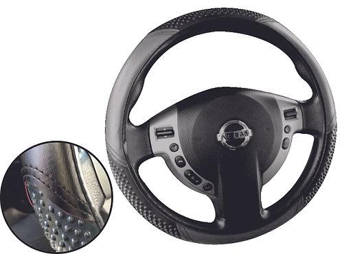 Economic Steering Wheel Cover Black