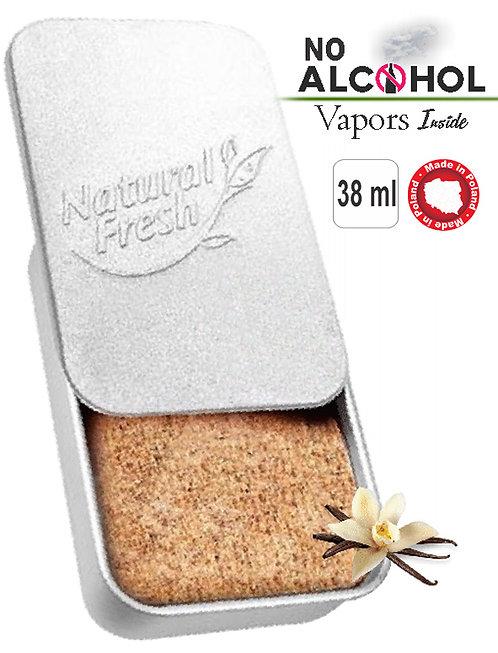 Metal box Organic 38ml Vanilla