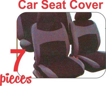 Seat Cover Kit Black Gray