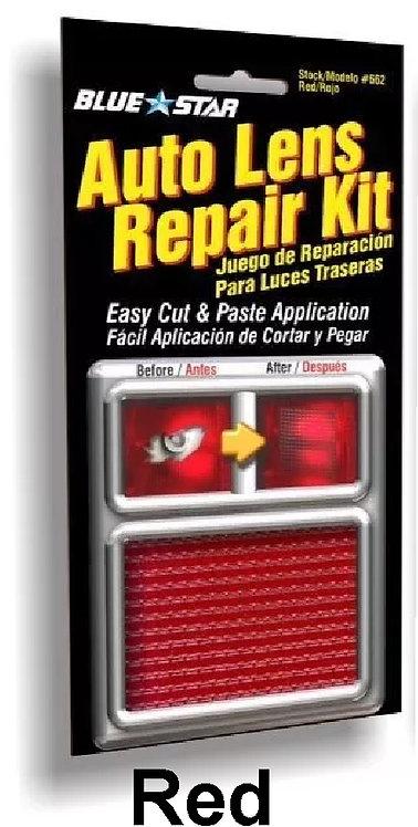 Auto Lens Repair Textured Red