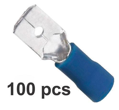 Male Blue Terminal 100 Pcs