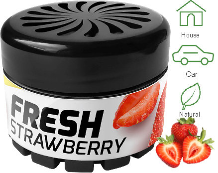 Fresh Organic Strawberry 42g