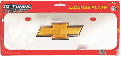 License Plate Metal Chevrolet