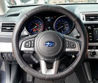 Steering Wheel Brown Thread