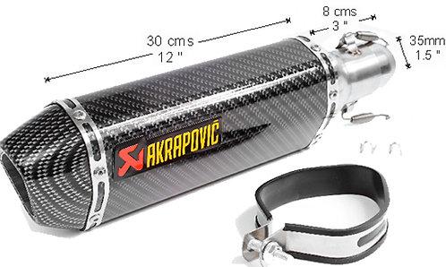 Muffler Moto Carbon filter