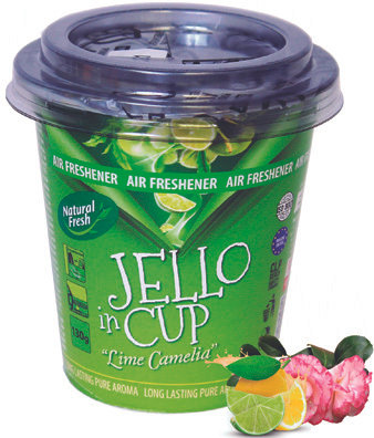 Jello In Cup Lime Camelia 130g