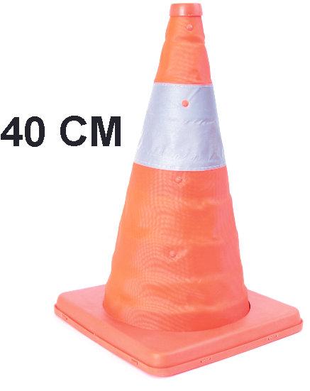 Cone Orange 24 Cms Retractil