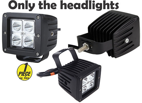 16W LED Work Light 3 inch Flood Beam 1 pcs