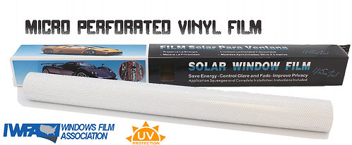 Windows film perforated 42 cms x 1.5 mtrs