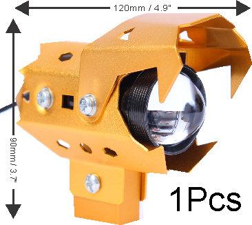U9 CREE LED Wolwerine Gold 1 pcs