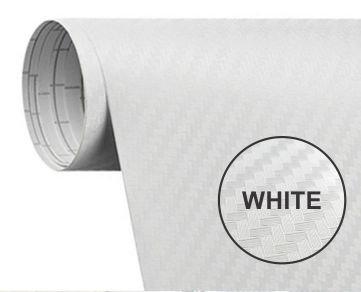 200X60Cm  White Carbon Fiber Paper