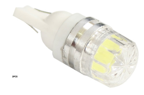T10 Star Bulb 1  Led (2Pcs)  Clear.