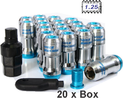 Nut Tuning With Cap Blue 1.25