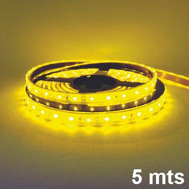 5Mts 300 Led 12V Adhesive Ribbon Yellow