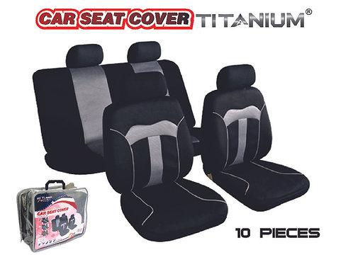 Seat Cover Titanium Gray 10 pcs