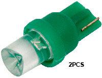 T10 1  Led (2Pcs)  Green