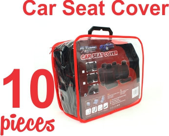 Seat Cover Kit Special Black Red