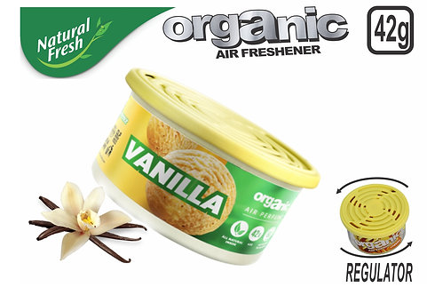 Organic Can Pure With Lid Vanilla 42 G