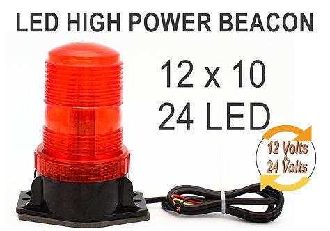 Rotating Light 30 LEDs 12x10 Red