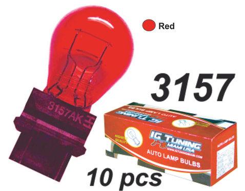 315 Red Bulb  10 Pcs