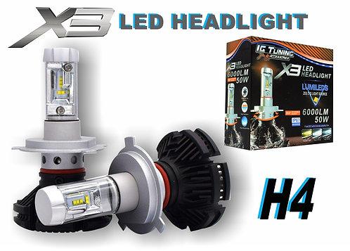 Headlight X3 H4