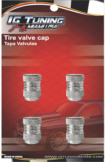 Aluminum  4Pcs Set Valve Caps
