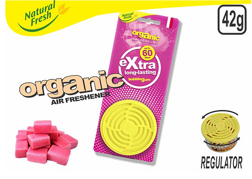 Organic Can With Header Bubble Gum 42G