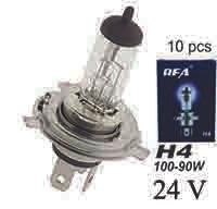 Bulb H4 24V 100 90 10 Pcs