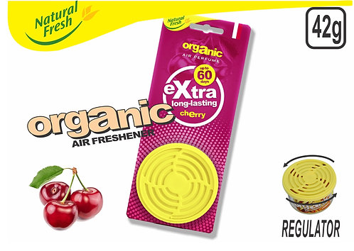 Organic Can With Header Cherry 42G