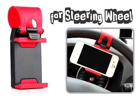 Steering Whell Cover Phone Mount