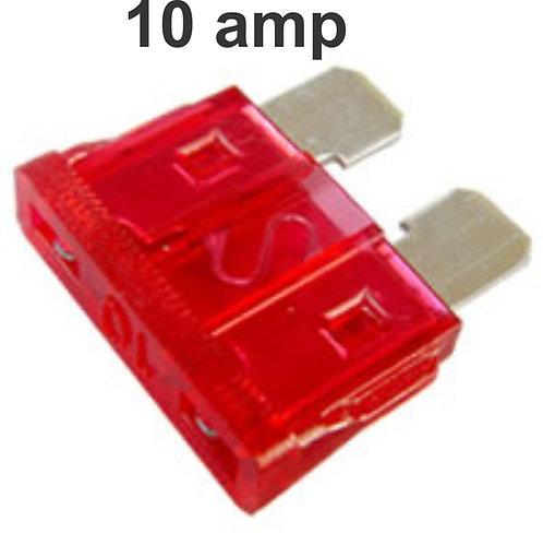 10 Amps Fuse 100 Pcs