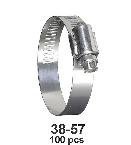 Hose Repair Clamp 38-57 100 pcs