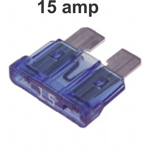 15 Amps Fuse 100 Pcs