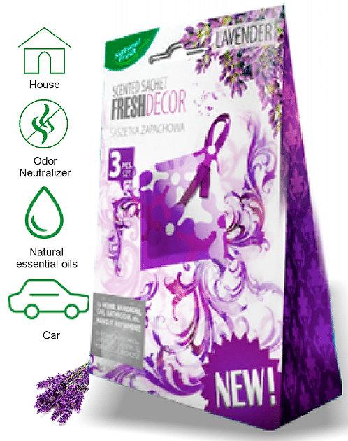 Fresh Decor Sachetes Lavender 3x10ml