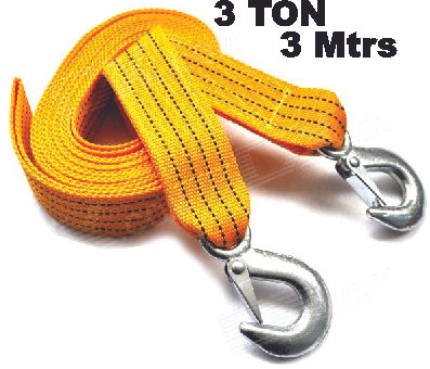 3 Ton Capacity Tow Rope