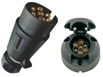 Trailer connector plug Male and female