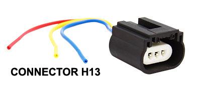 H13 Bulb Connector 1 pcs