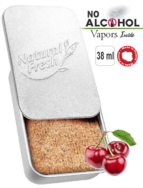 Metal box Organic 38ml Cherry