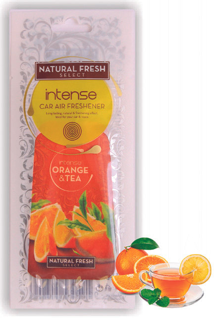 Select Intense Orange and Tea