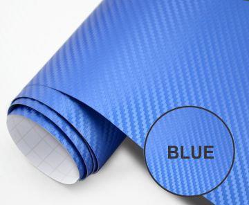 200x50 cm Blue Carbon Fiber Paper